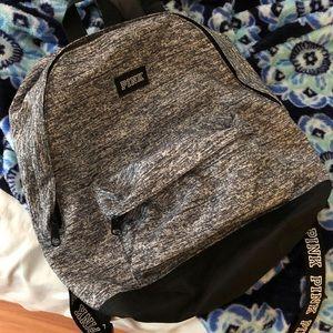 Victoria's Secret PINK mini backpack - grey